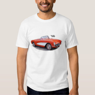 T-shirt 56 de Chevrolet Corvette Vette 1956 '