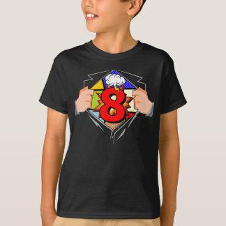 T-shirt 8ème Anniversaire comique