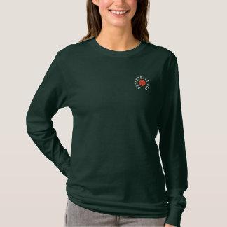 T-shirt À Manches Lomgues Brodée Chemise brodée par maman de basket-ball