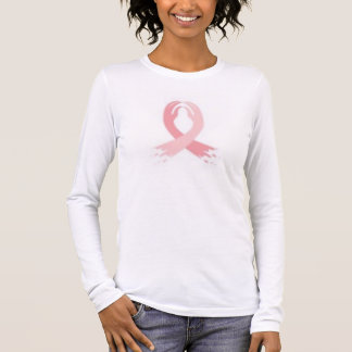 T-shirt À Manches Longues cancer du sein