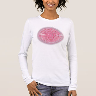 T-shirt À Manches Longues Conscience de cancer du sein