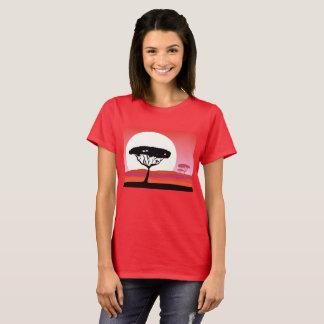 T-shirt Afrique d'été de voyage