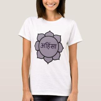T-shirt ahimsa (lotus) .jpg
