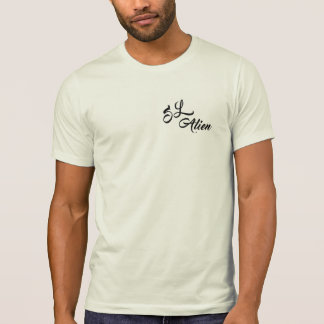 t - shirt alien
