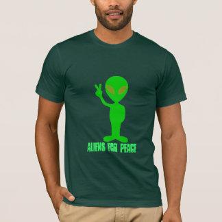 T-shirt Aliens pour la paix
