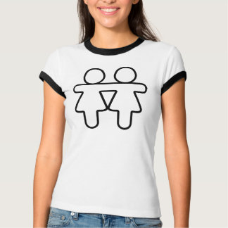 T-shirt Amour lesbien de gay pride