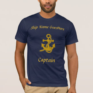 T - Shirt - Anker, Schiffsname