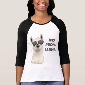 T-shirt Aucun lama de problème