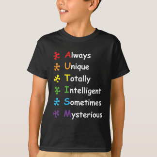 T-shirt Autisme