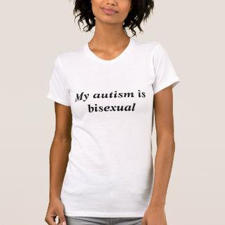 T-shirt Autisme bisexuel