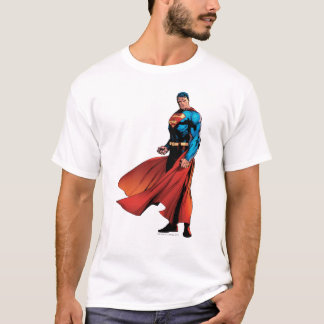 T-shirt Avant de regards de Superman