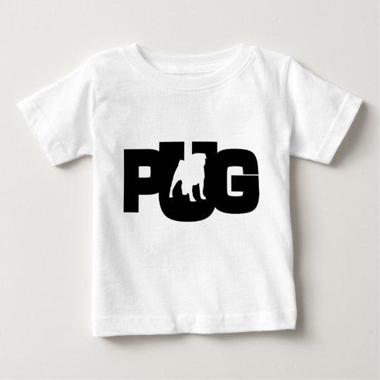 T-Shirt Baby Pug