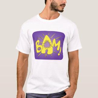 T-shirt Bam ! Graphique de scène de combat de Batman