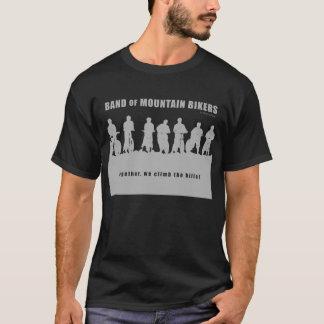 T-shirt Bande des cyclistes de montagne