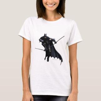 T-shirt Batman faisant un pas sur la ligne