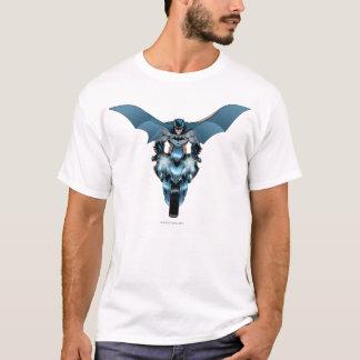 T-shirt Batman sur le vélo avec le cap