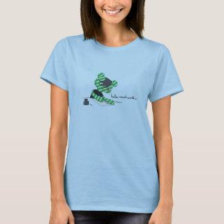 T-shirt Bébé de dames du monde cruel d'ours d'Emo