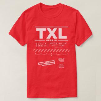 T - Shirt Berlins Tegel Flughafen-TXL