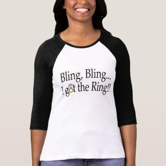 T-shirt Bling Bling j'ai obtenu l'anneau