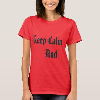 T-shirt Blouse Keep Calm