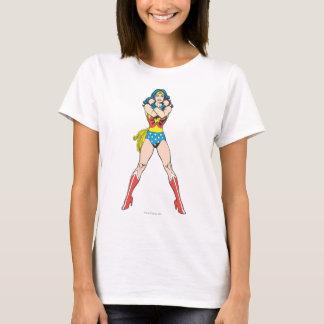 T-shirt Bras de femme de merveille croisés
