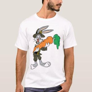 T-shirt Carotte de thanksgiving de pèlerin de ™ de BUGS