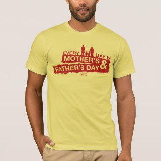 T-shirt Chaque jour est la mère et la fête des pères