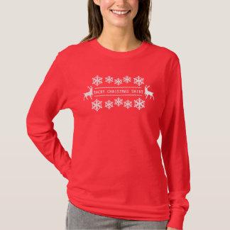 T-shirt Chemise de mauvais goût de Noël