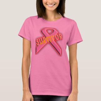T-shirt Chemise de survivant de cancer du sein