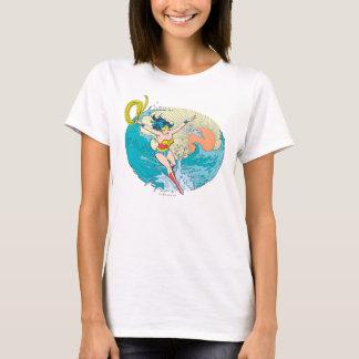 T-shirt Ciel d'océan de femme de merveille