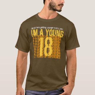 T-shirt cinquantième Anniversaire 18 ans 32 ans