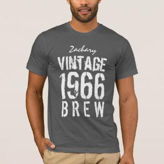 T-shirt cinquantième Anniversaire Brew de cru de 1966 ou