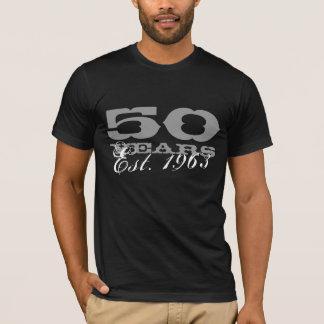 T-shirt cinquantième Tee - shirt d'anniversaire pour l'est