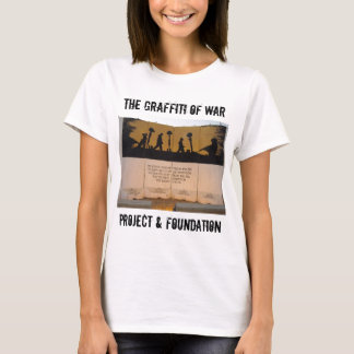 T-shirt Citation de mémorial/Garfield de barrière du