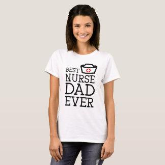 T-shirt Citation d'infirmière : Le meilleur papa