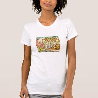 T-shirt Claque de Garfield, la chemise des femmes