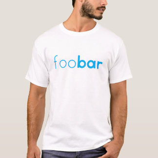 "T-shirt conception Geeky de codage ""de barre de foo"""