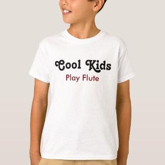 T-shirt Cool enfants Play Flute