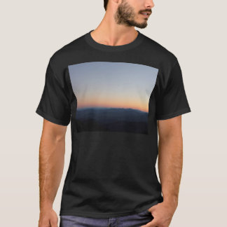 T-shirt Coucher du soleil de Blue Ridge Mountains