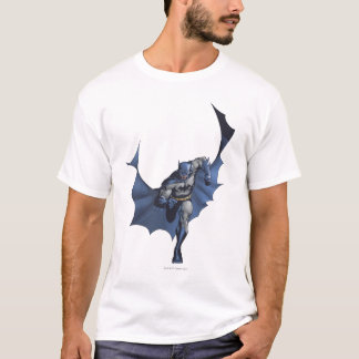 T-shirt Courses de Batman avec le cap de vol