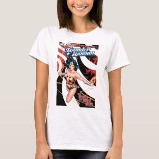 T-shirt Couverture comique #12 de femme de merveille