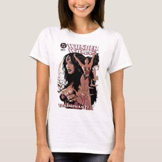 T-shirt Couverture comique #150 de femme de merveille :