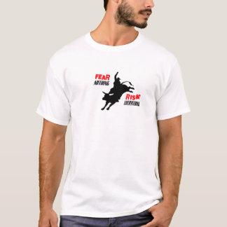 T-shirt Crainte rien risque tout
