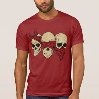 T-shirt «Crâne (sourde, il aveugle, change) «