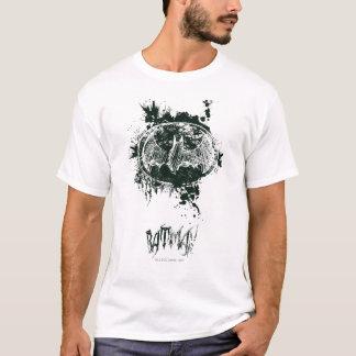 T-shirt Croquis grunge d'éclaboussure de Batman