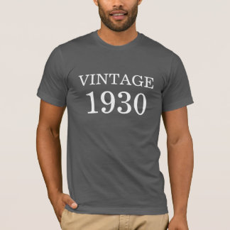 T-shirt Cru 1930