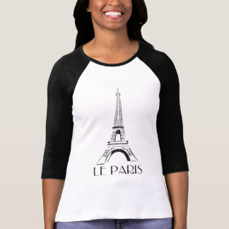 T-shirt cru le Paris