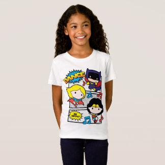 T-Shirt Danse de héros de Chibi