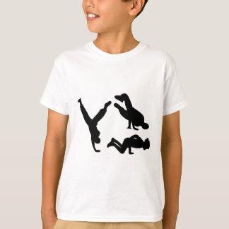 T-shirt danseur de hip hop
