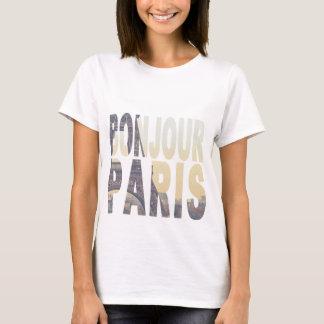 T-shirt de Bonjour Paris